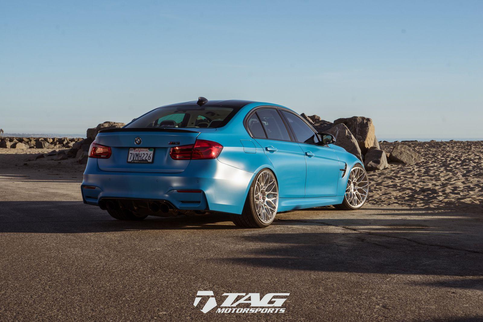 BMW M3 'Riviera Blue'-1