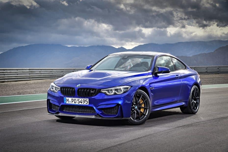 BMW M4 CS 2017: 460 CV y Competition Package para situarse entre el M4 Coupé y el M4 GTS