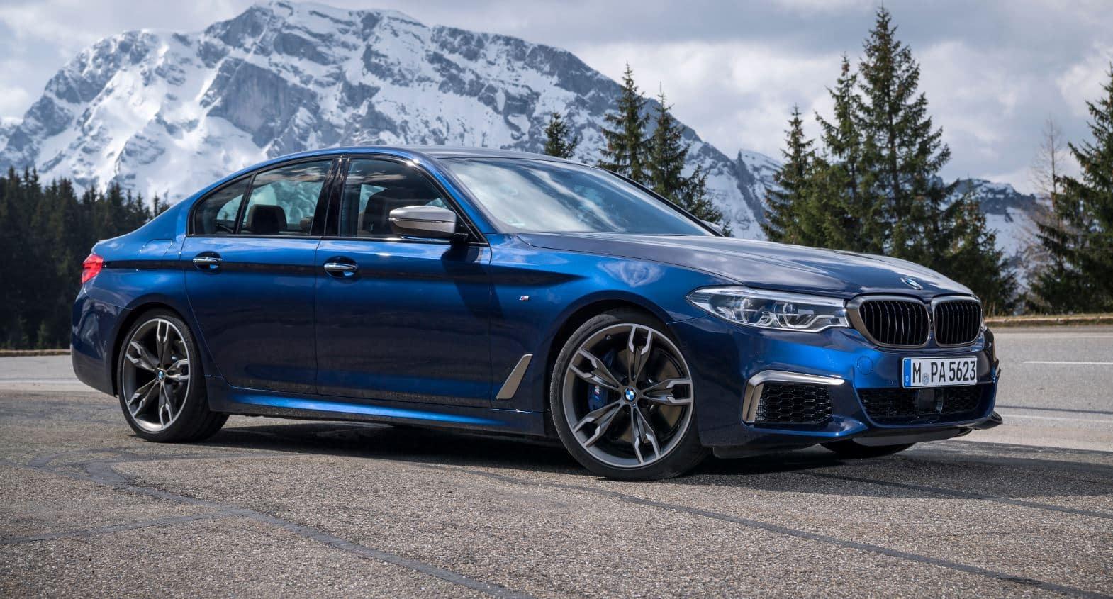 BMW M550 i 8
