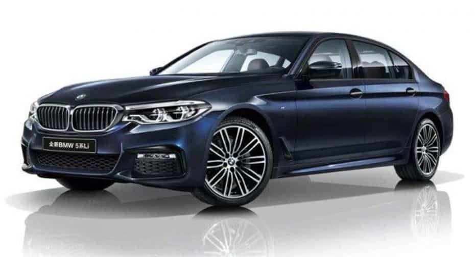 El nuevo BMW Serie 5 tendrá una variante de carrocería extendida: De momento, solo para China