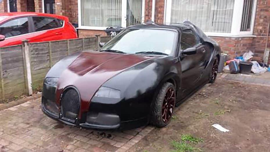 Esta podría ser la mayor abominación que hayas visto jamás: Un MG convertido… ¿En un Veyron?