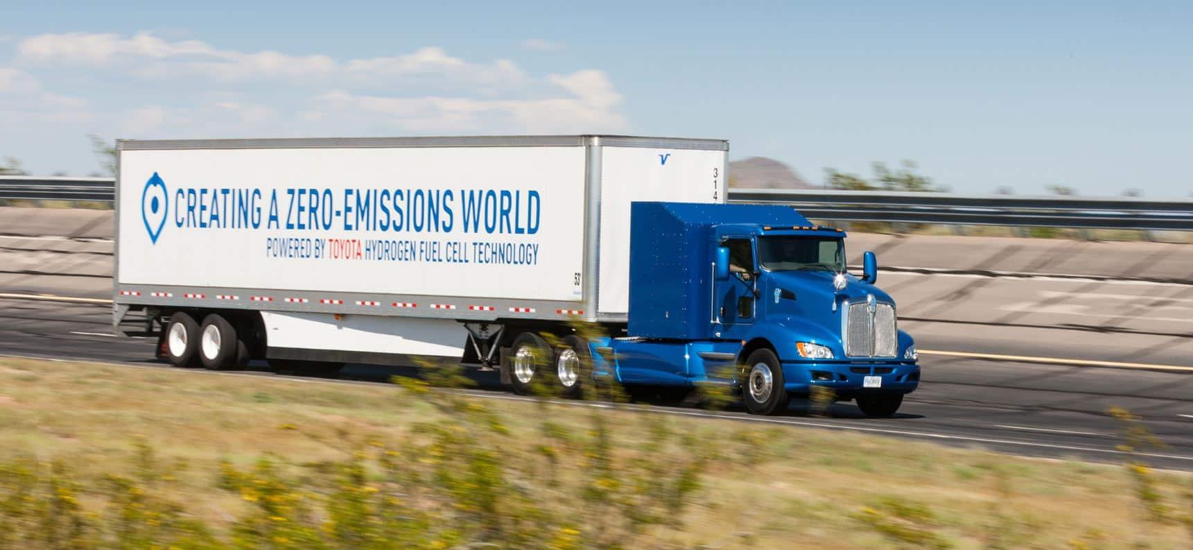 Camión hidrógeno Toyota