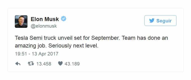 Elon Musk Tesla Furgo