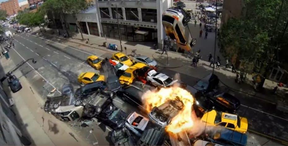 Así se rodó una de las escenas más salvajes de Fast & Furious 8: El caos en las calles de Manhattan