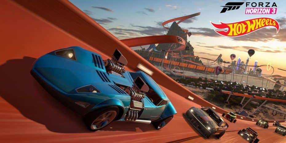 El Forza Horizon 3 ahora incluye una nueva expansión ¡Una auténtica pista de Hot Wheels!