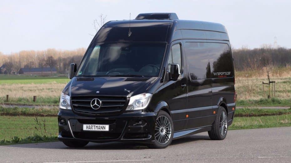 ¿Una Mercedes-Benz Sprinter de Hartmann? Ojo a la 'furgo' en la que no te faltará de nada