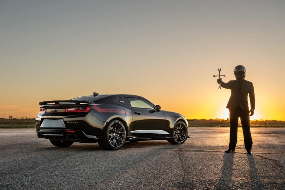 Chevrolet Camaro ZL1 'The Exorcist': La respuesta de Hennessey al SRT Demon esconde 1.000 CV