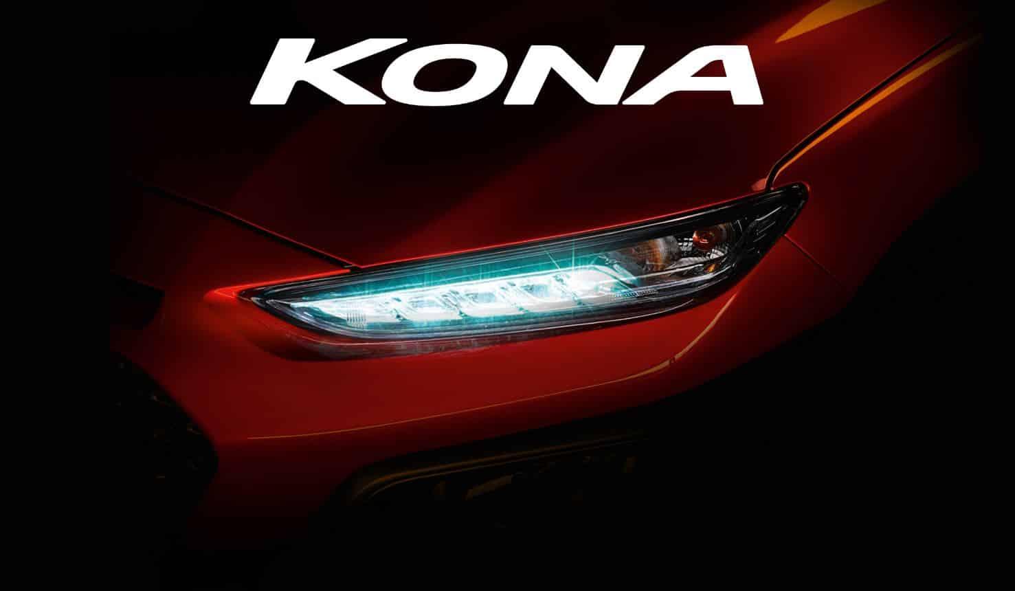 Ya sabemos el nombre del nuevo SUV de Hyundai: ¡Se llamará Kona!