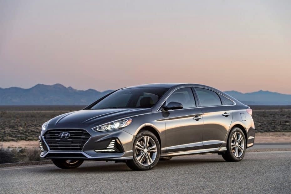 Aquí está el lavado de cara del Hyundai Sonata: Un súper ventas ahora más pintón