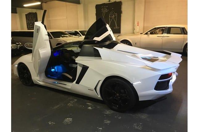 Esta réplica de un Lamborghini Aventador puede ser tuya por 51.000 euros pero… ¿Los pagarías?