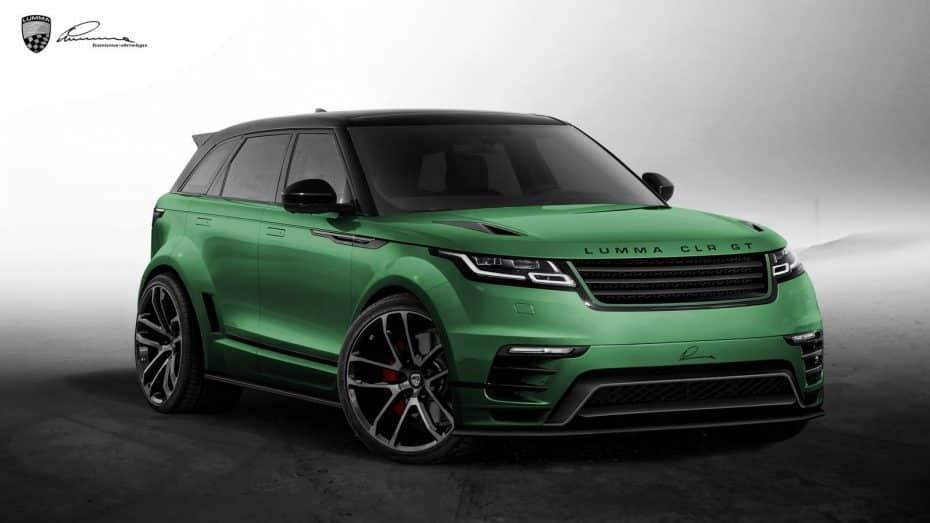 Lumma CLR GT: El Range Rover Velar también tendrá su variante tuning y no tiene mala pinta