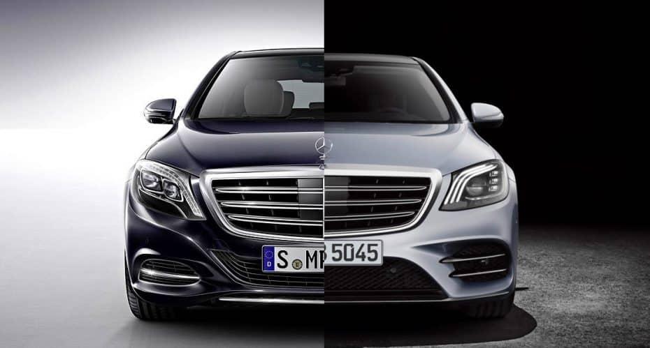 Comparación visual: Juzga tú mismo, esto es lo que ha cambiado el Mercedes-Benz Clase S