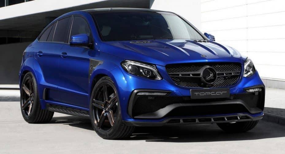 El brutal 'Infierno' de TOPCAR se pasa al azul: Hasta 716 CV para el Mercedes-Benz GLE Coupe