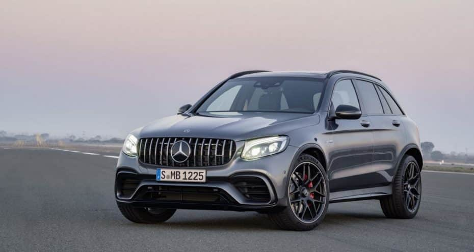 Así son los Mercedes-AMG GLC63, GLC63 Coupé y GLC63 S Coupé