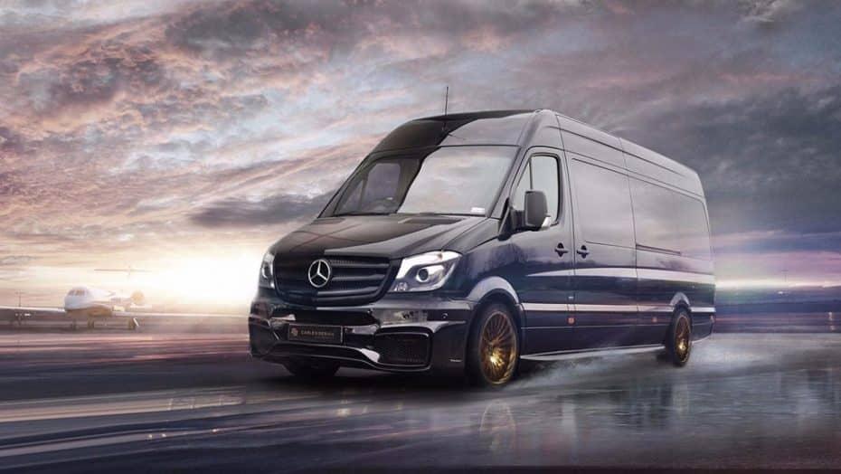 Carlex Design Mercedes-Benz Sprinter Jet Van: El lujo y la belleza están en el interior