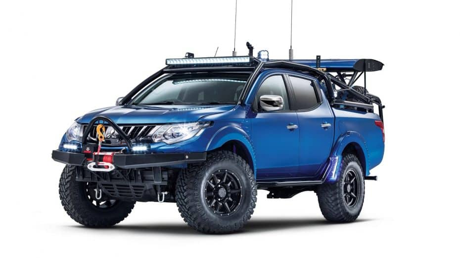Mitsubishi Special Vehicle Projects debuta con un L200 digno de un apocalipsis zombie