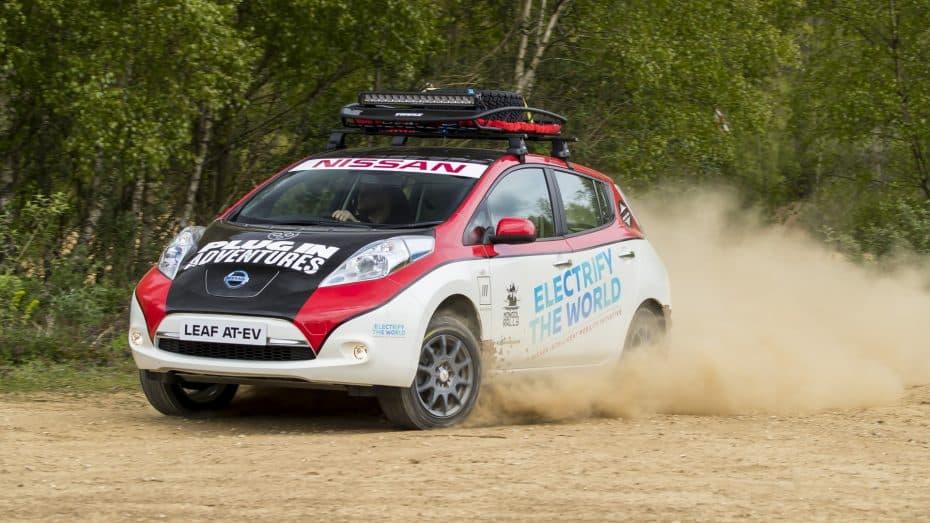 ¿Un eléctrico en un rally salvaje de más de 15.000 km? El Nissan Leaf se someterá el Rally de Mongolia