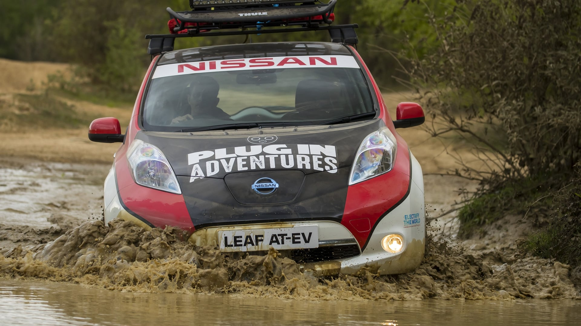 Nissan Leaf - Mongol Rally-6