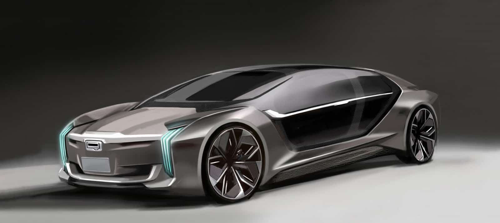 Así es el Qoros K EV: Un extravagante prototipo con tecnología Freevalve de Koenigsegg