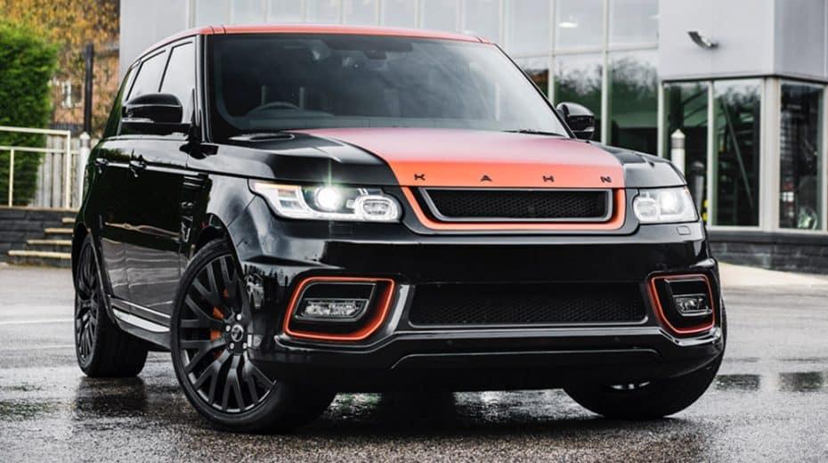 Range Rover Sport Vesuvius Edition: Más aerodinámica con el toque clásico del SUV británico