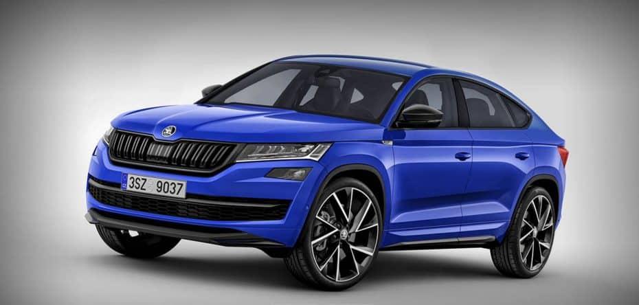 ¿Un Škoda Kodiaq Coupé?: Así quedaría el nuevo modelo «para China»