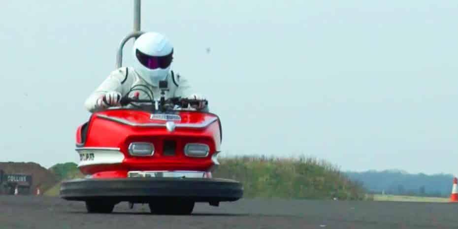 Aquí tienes el coche de choque más rápido del mundo ¡Acelera hasta los 172 kilómetros por hora!