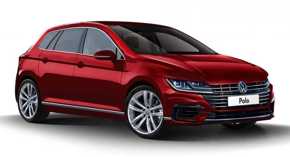 Así sería el nuevo Volkswagen Polo 2018 si se inspirase en el Arteón ¿Se hará realidad?