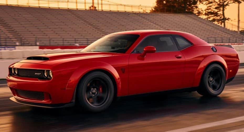 ¡Primera imagen!: El Dodge Challenger SRT Demon ya está aquí…