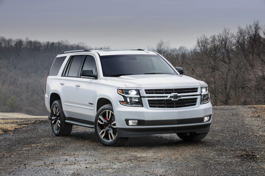 Nuevo Chevrolet Tahoe RST: Con motor 6.2 V8