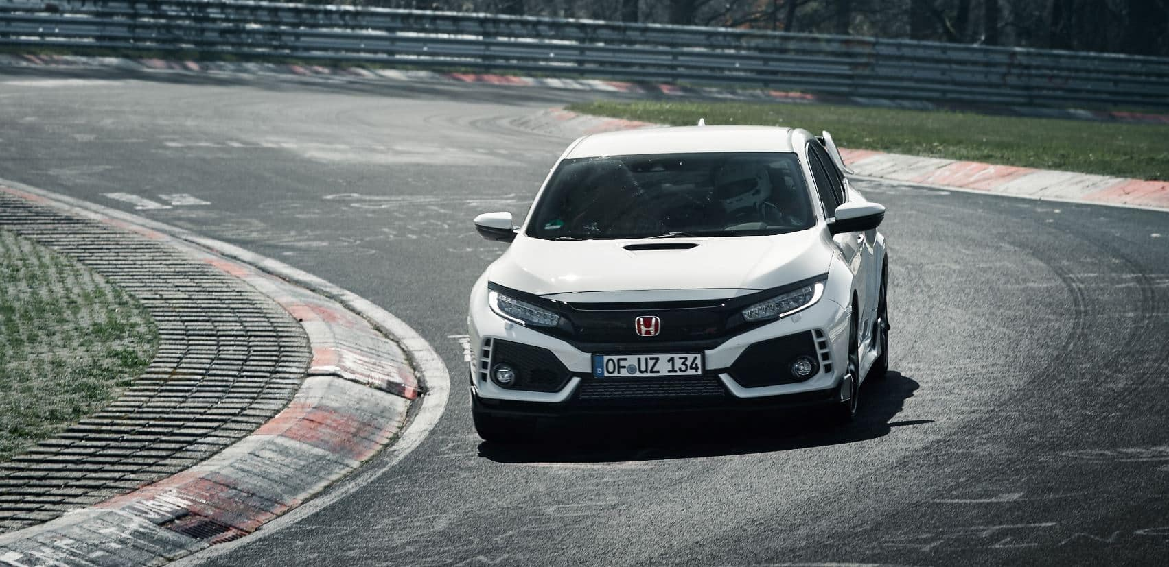 honda civic type r Nürburgring 1