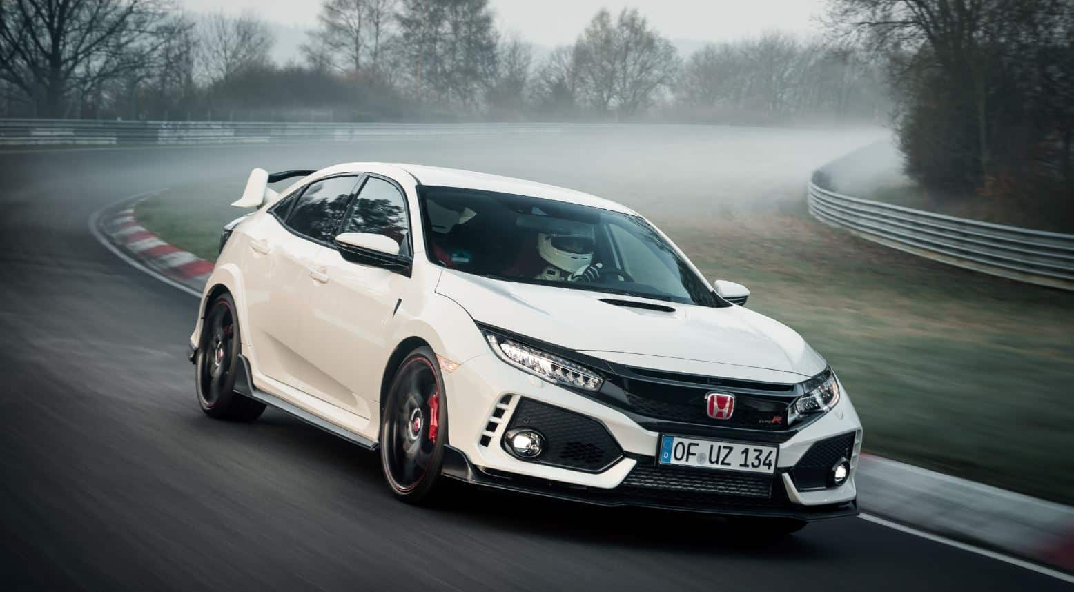 honda civic type r Nürburgring 8