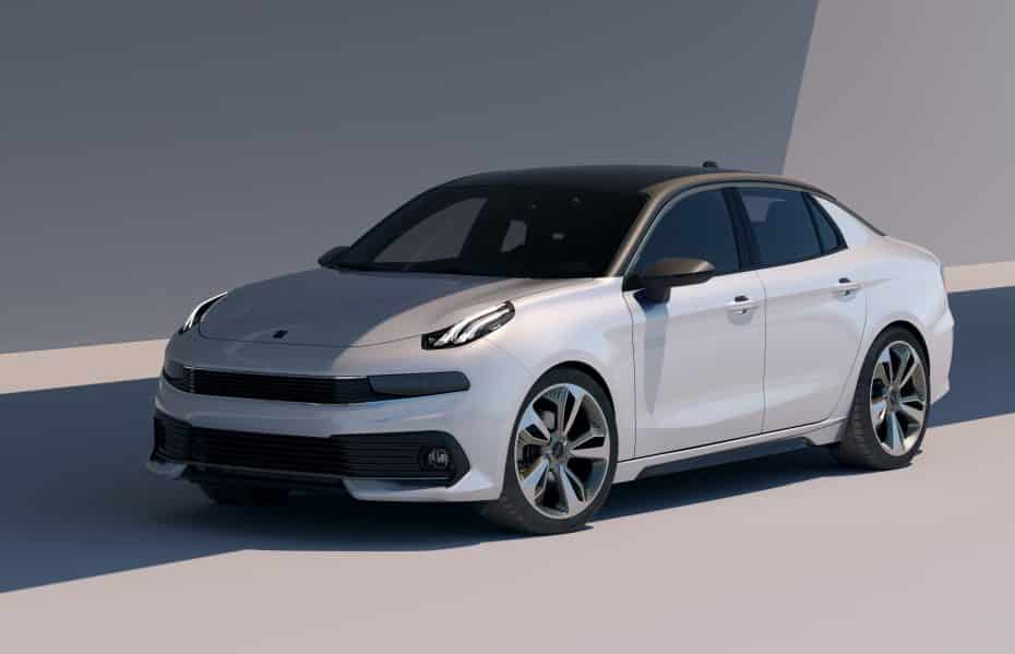 LYNK & CO 03 Sedán Concept, la nueva berlina de la firma china