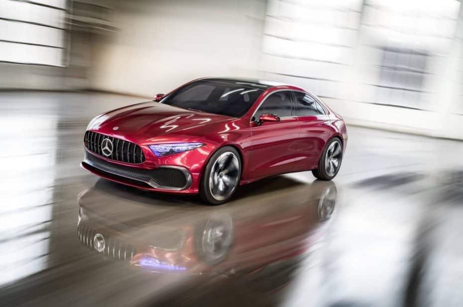 El Mercedes Concept A adelanta las formas de los próximos compactos de la marca alemana