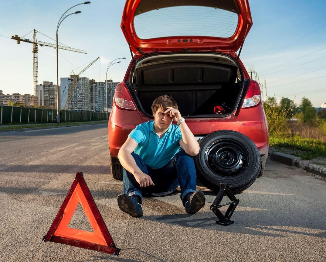 ¿Conoces las partes de la rueda de coche?