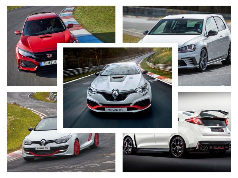 Estos son los 6 compactos tracción delantera más rápidos de Nürburgring: ¿Con cuál te quedas?