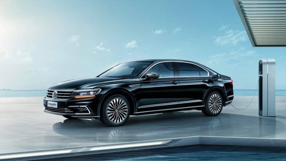 El nuevo VW Phideon GTE es elegante, híbrido y sólo para China