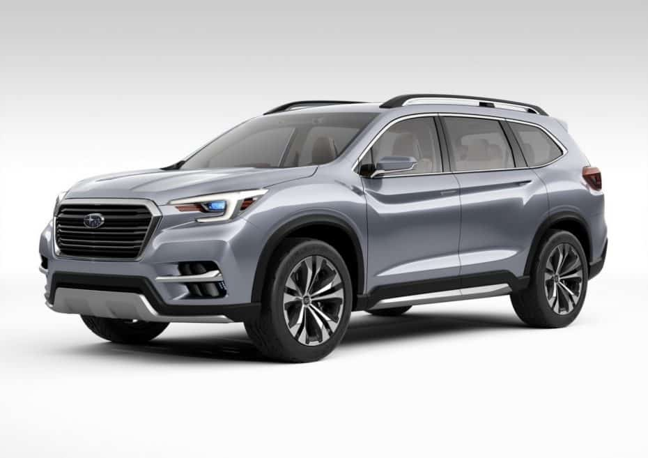 El Subaru Ascent Concept nos acerca al sucesor del Tribeca: Con siete plazas