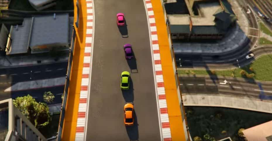 ¿Correr en el GTA V y verlo todo como en el GTA de 1997? ¡Llega el plano cenital más retro!