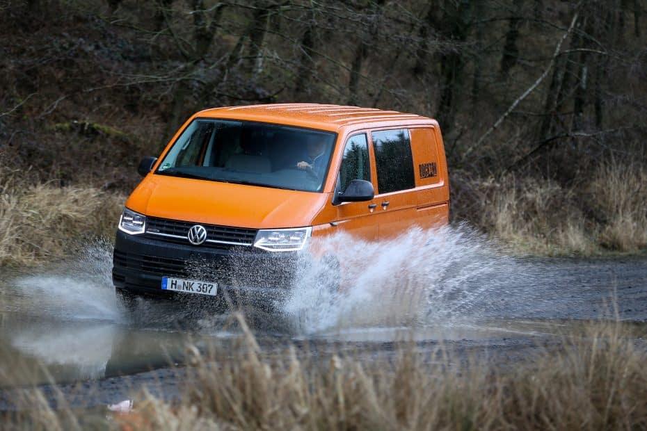 Regresa el Volkswagen Transporter «Rockton»: Para terrenos difíciles