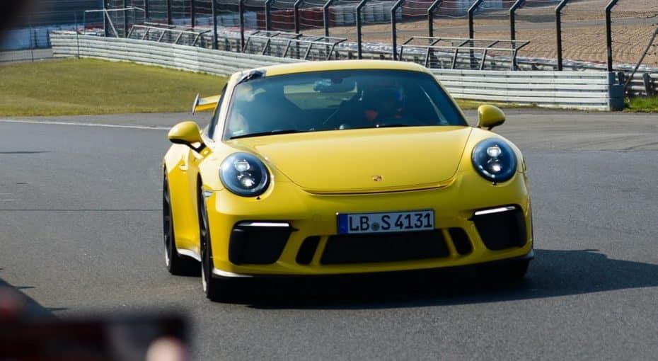 ¡Vuela!: El nuevo Porsche 911 GT3 mejora en 12.3 segundos el tiempo de su predecesor en Nürburgring