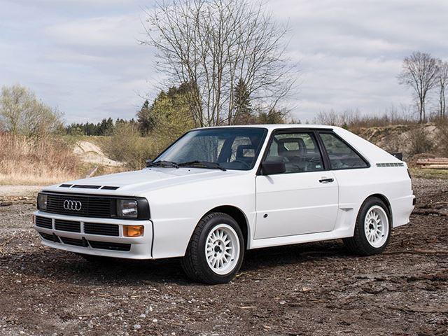 Ahora este Audi Sport Quattro de 1985 será subastado por una fortuna ¡Y está impecable!