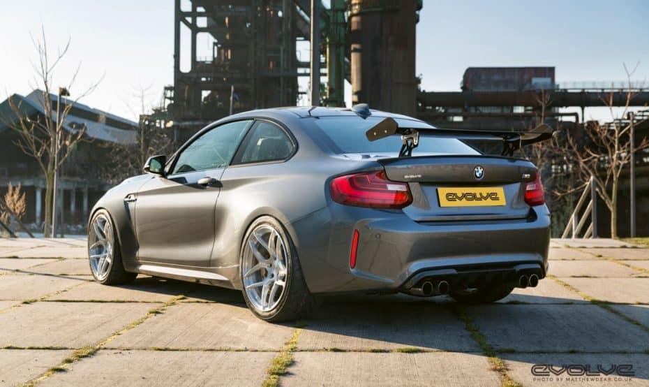 Evolve Automotive nos muestra su visión del M2 GTS y no pinta mal…