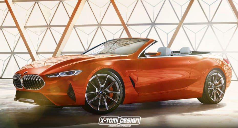 Un Gran coupé, un cabrio y hasta un Shooting Brake: La Serie 8 de BMW y sus posibles carrocerías