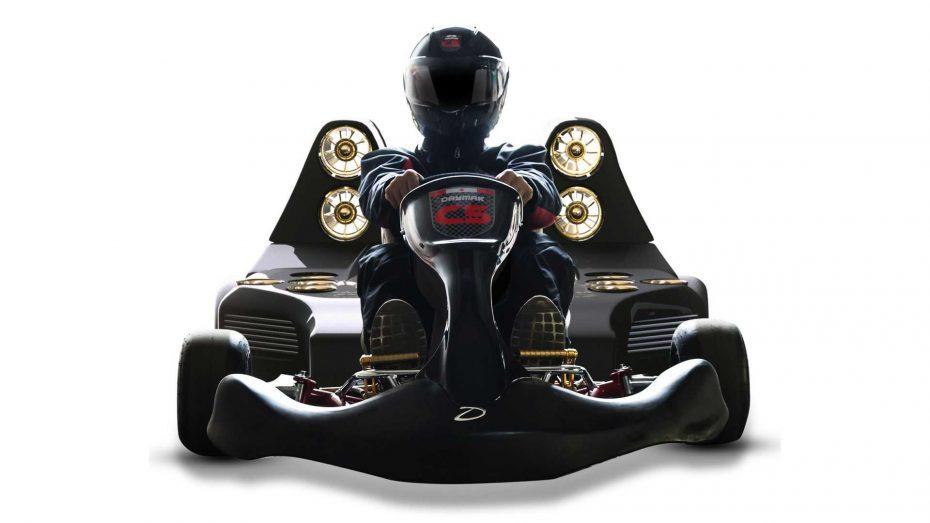 Te presentamos el Daymak C5 Blast ¿Imaginas un kart más rápido que un Bugatti Chiron?