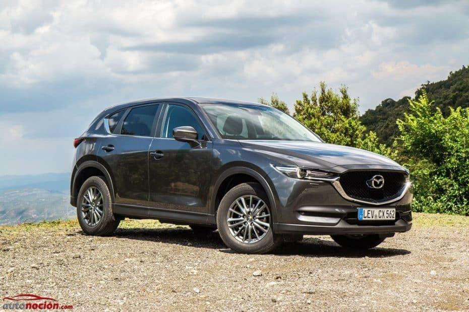 Contacto gama Mazda CX-5 2017: Cada vez más cerca del segmento 'premium'
