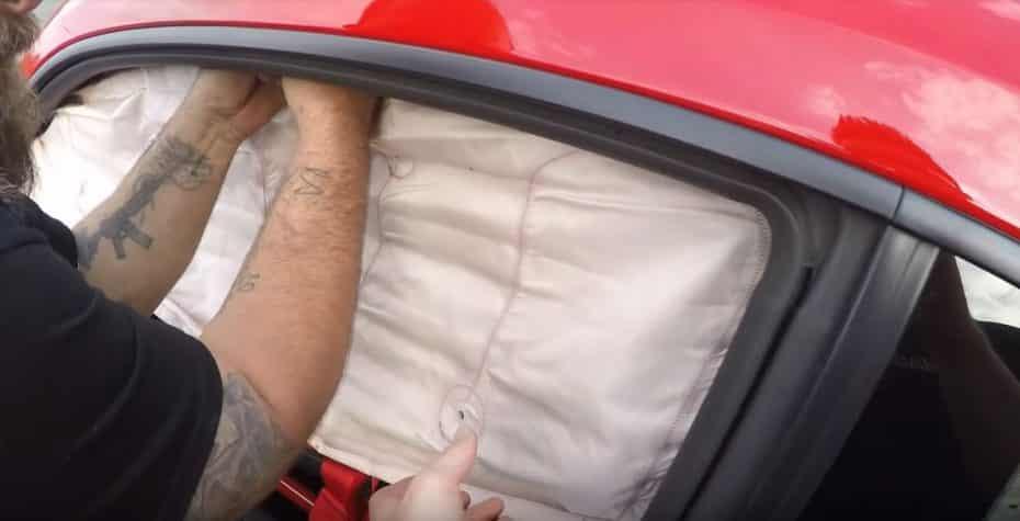 ¿Un escape tan bestia que hace desplegar los airbags?: Sí, y no es broma…