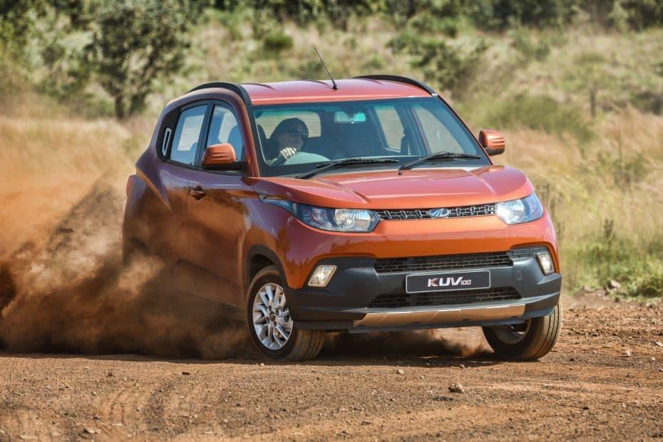 El Mahindra KUV100 llega a España: Extraño y con seis plazas