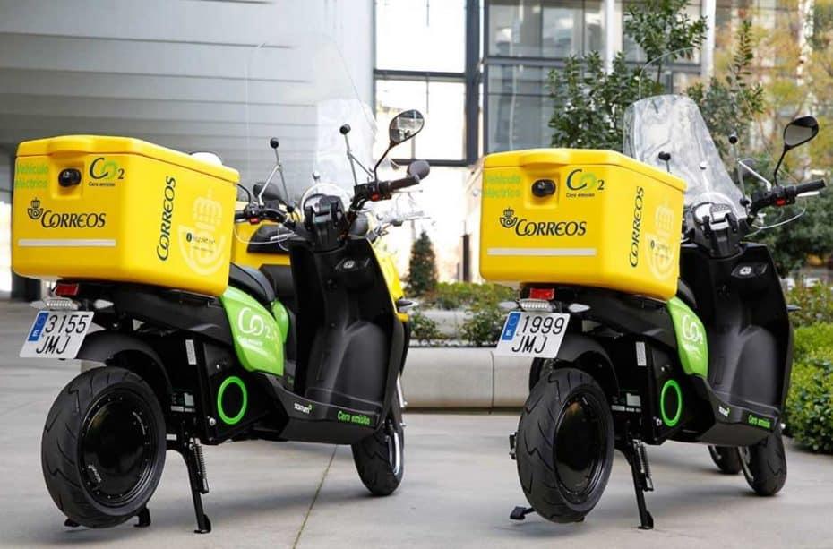 Ya no oirás llegar al cartero….: ¡Estas son las nuevas motos de Correos!