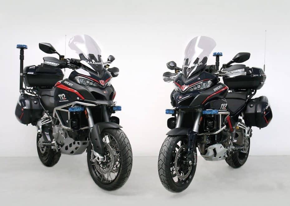 Los nuevos juguetes de la policía italiana tienen dos ruedas: Ducati Multistrada 1200 S y Multistrada 1200 Enduro