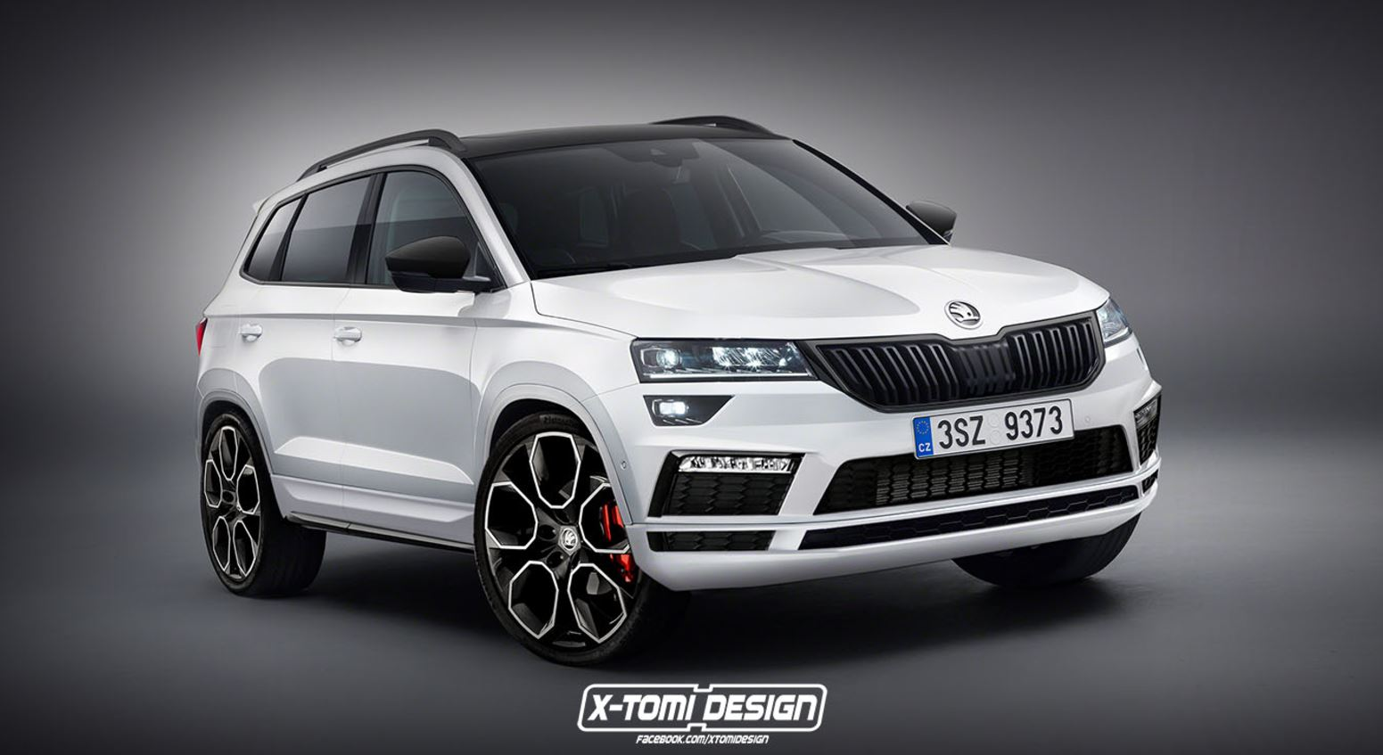 el seat ateca cupra podr a tener un rival checo c mo ver as un koda karoq vrs. Black Bedroom Furniture Sets. Home Design Ideas